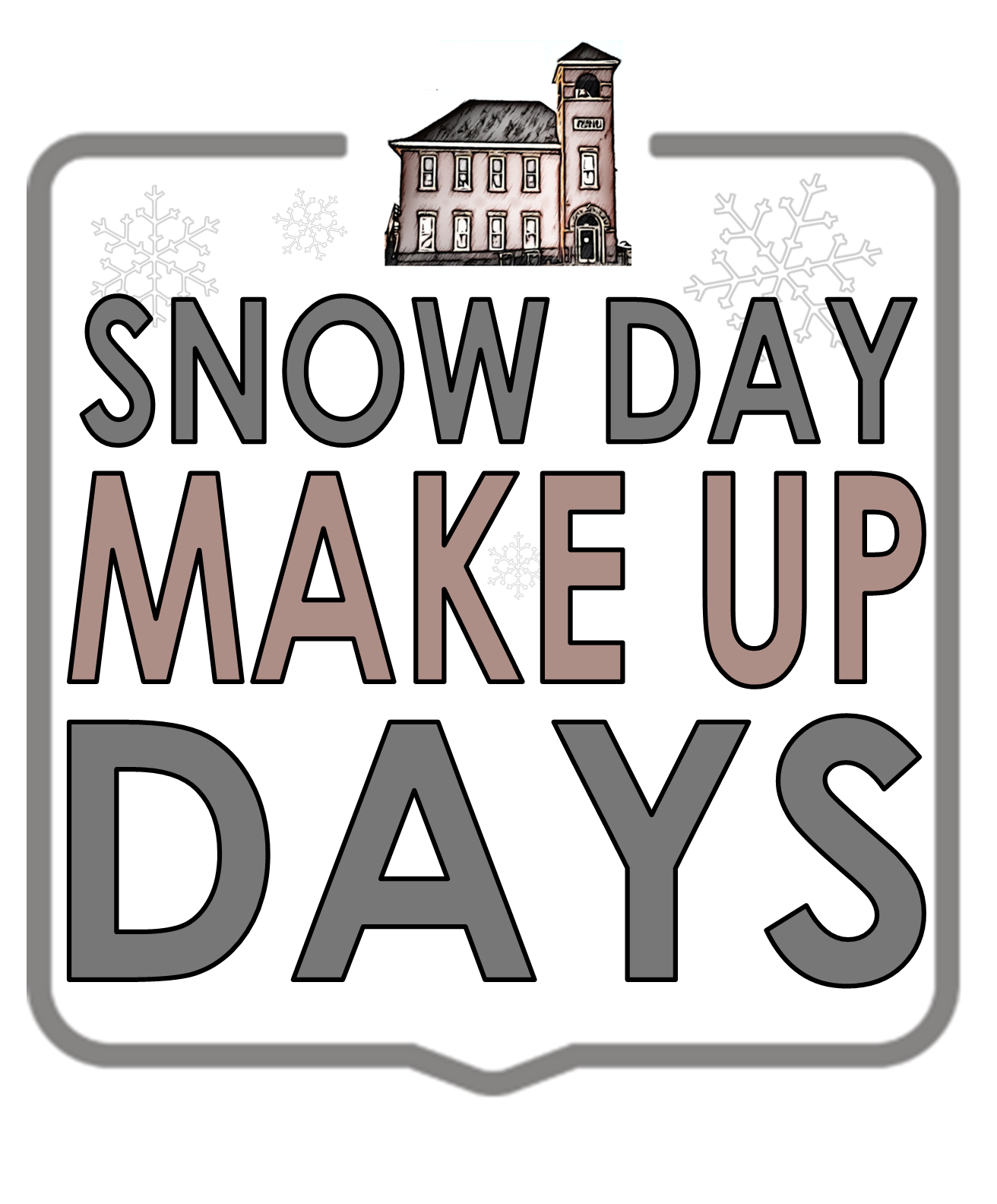 snow day make up days