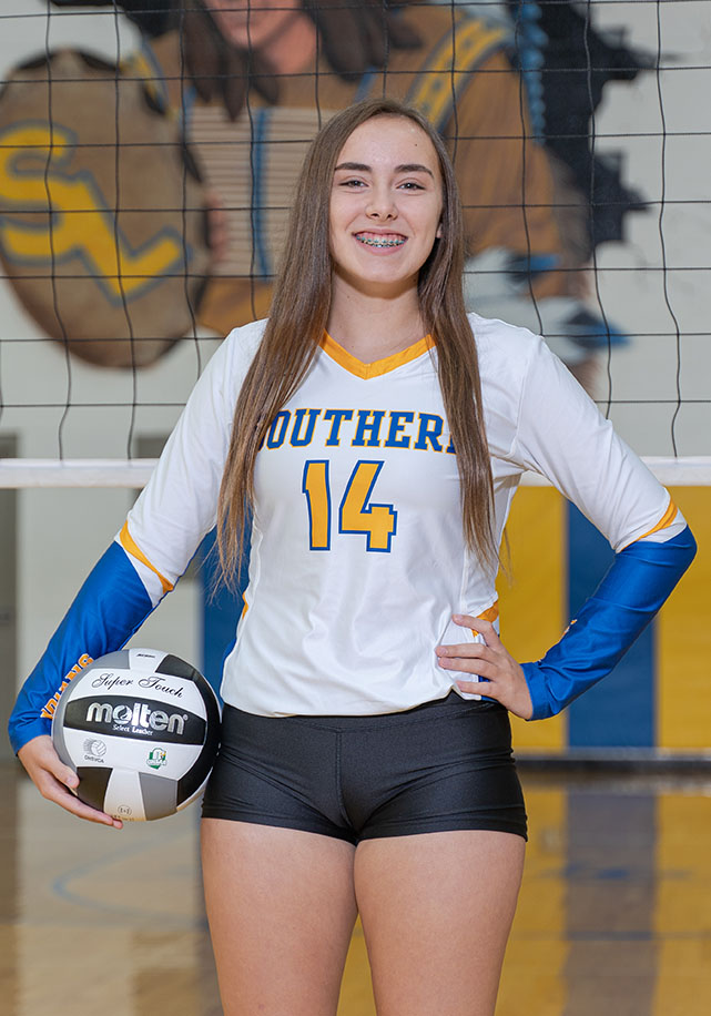 Freshman Esther Forbes