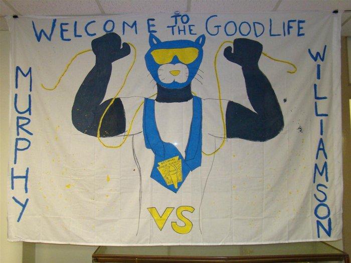 Homecoming Banner 2008