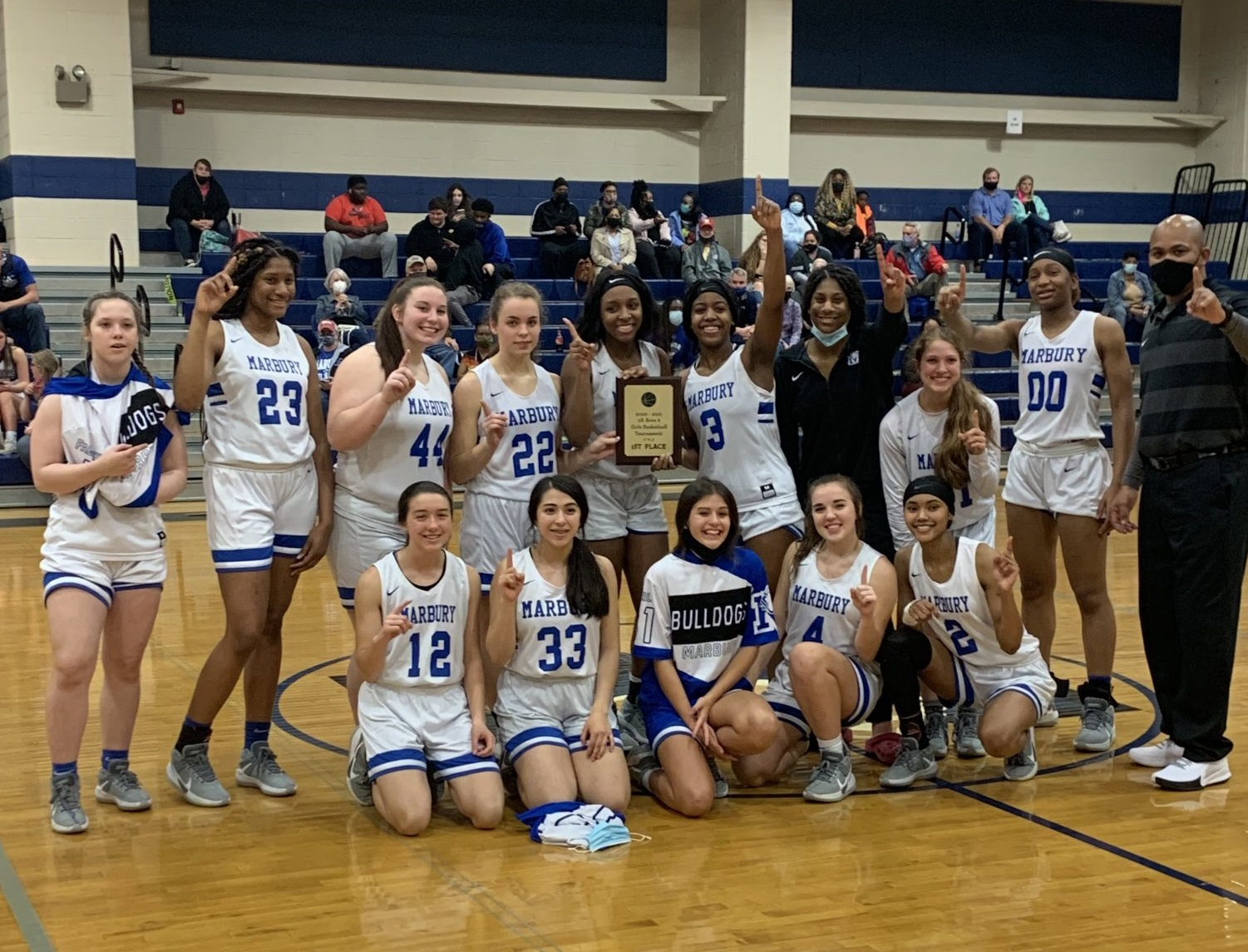 Class 5A Area Champs 2021!