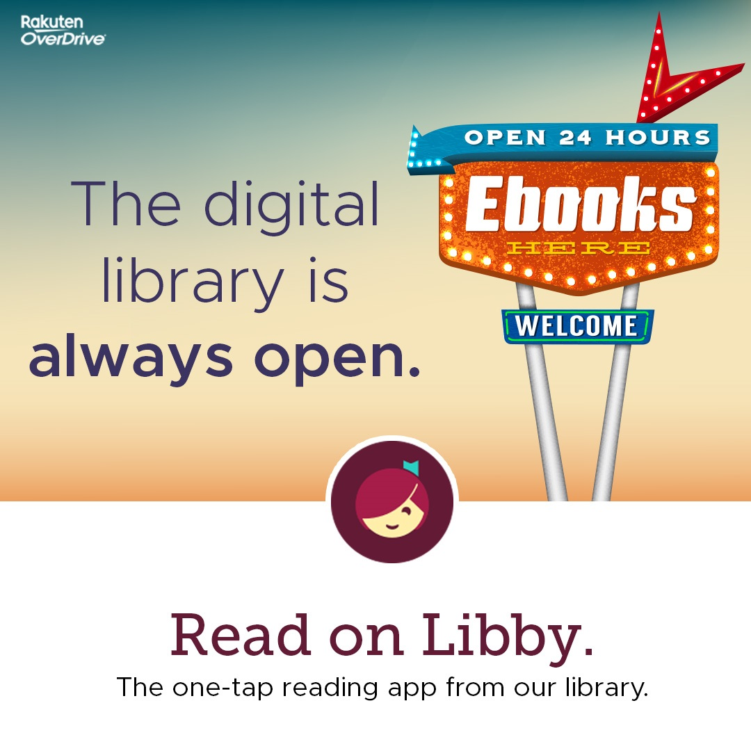 Library is 24/7 with ebooks
