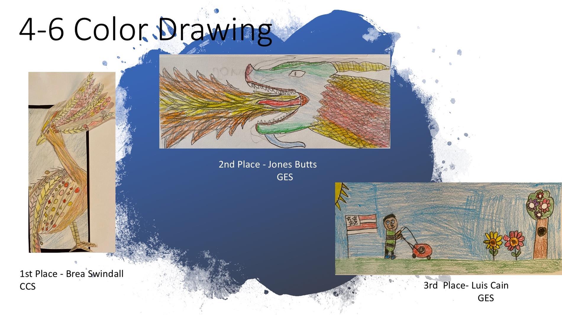 4 - 6 color art
