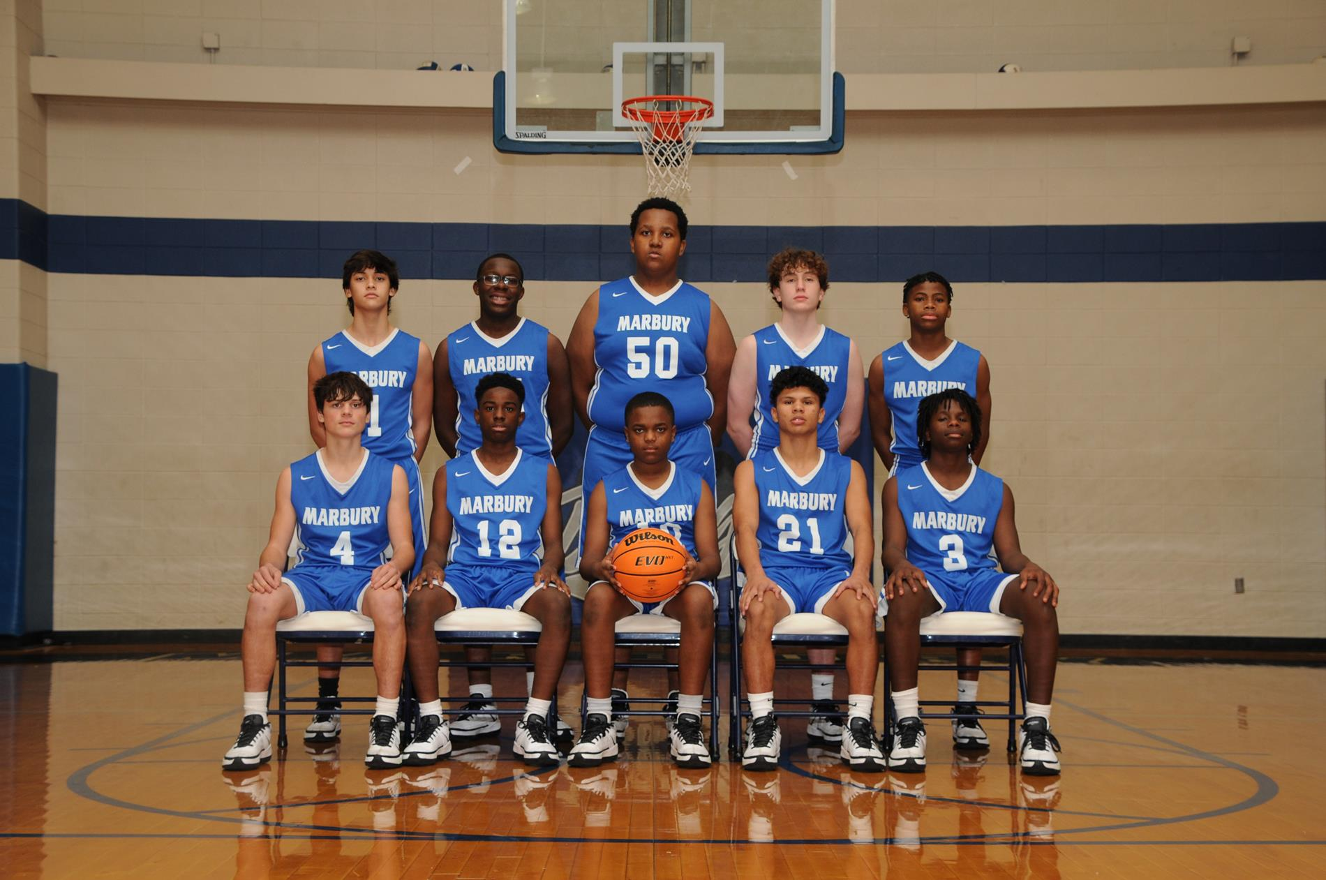 JV Boys Basketball 2020-2021