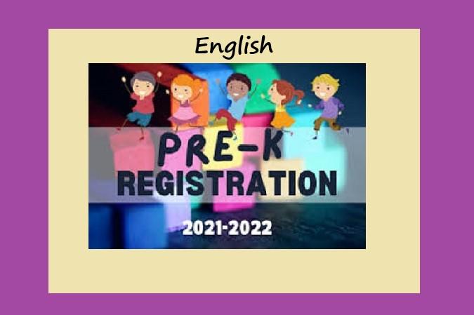 PreK Registration 21-22