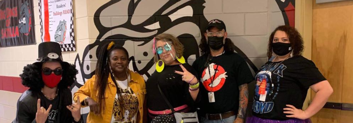 Faculty in Costume