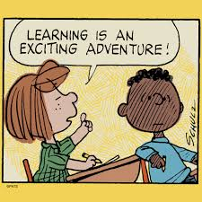 learning is an exciting adventure