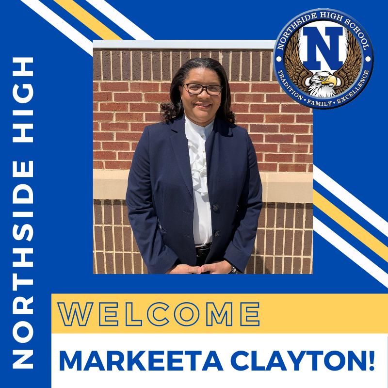 Clayton Named Northside high Principal