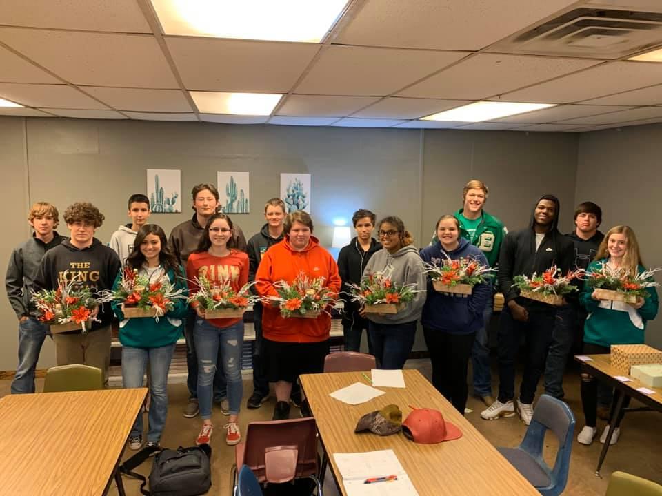 2019-20 Floral Design Class