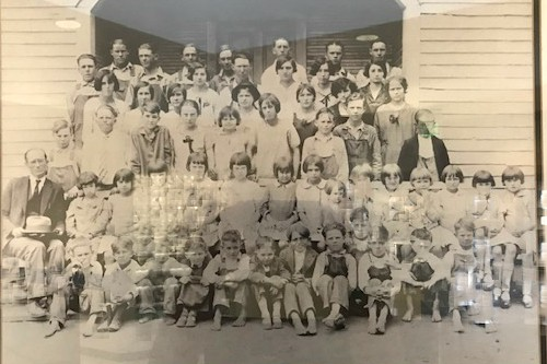 Cedar Hill School Aproximately 1936