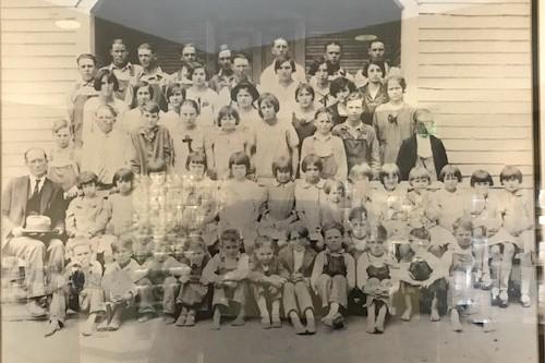 Cedar Hill School Aproximately 1936