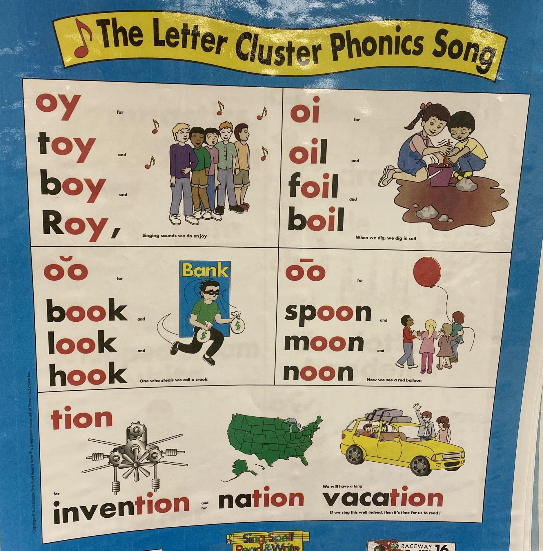 letter cluster song 2