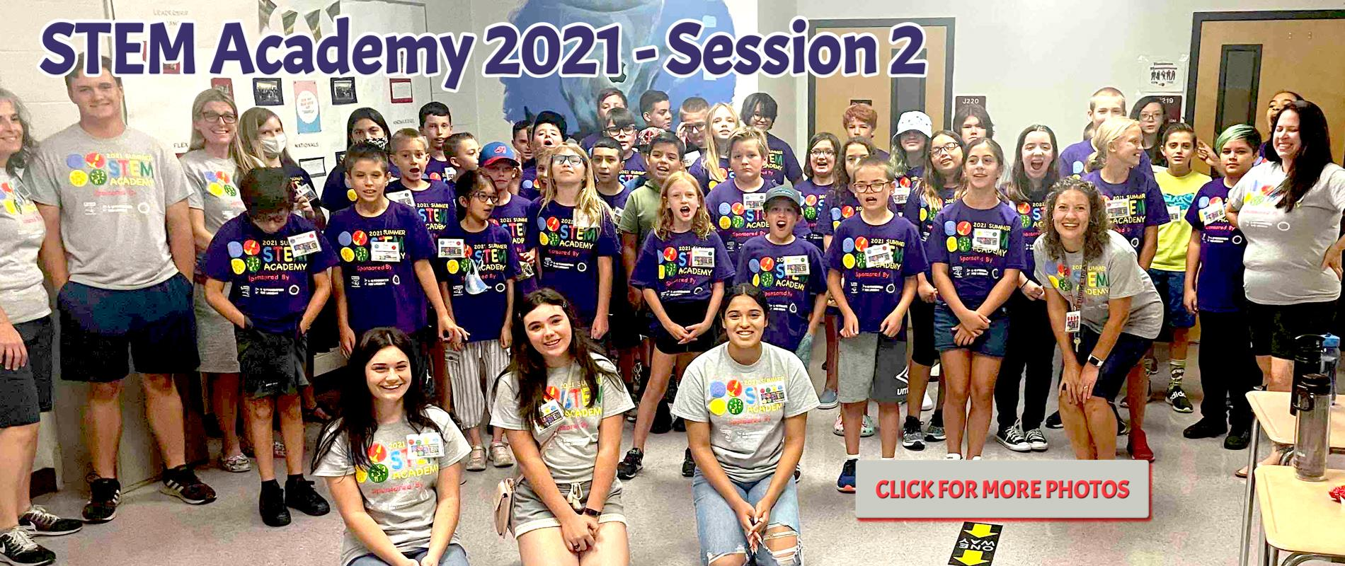 STEM Academy 2021 Participants and Staff