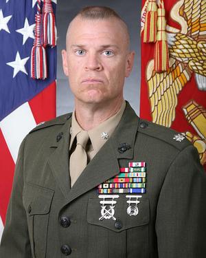 Lieutenant Colonel Johnston