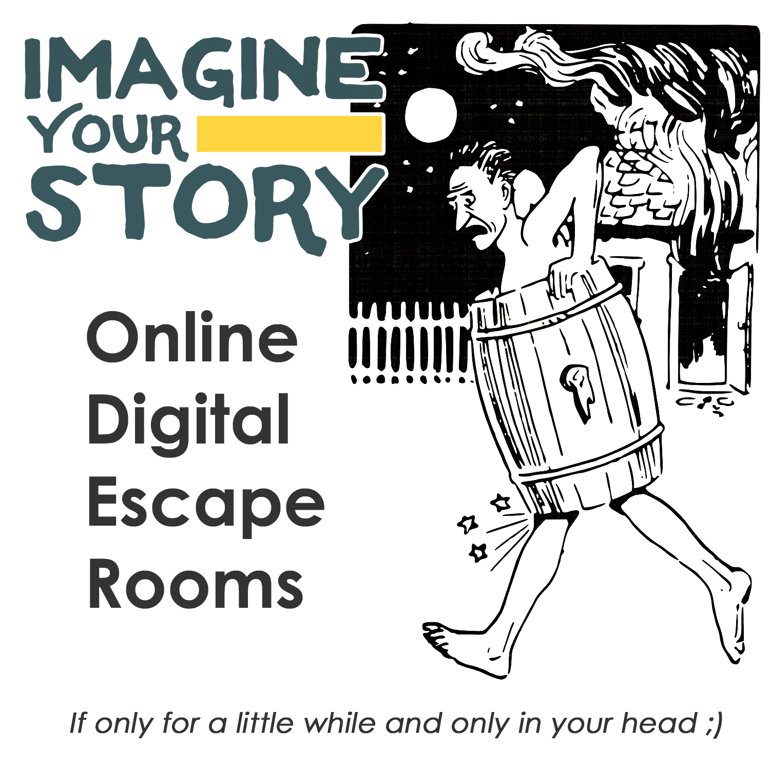 Online Digital Challenges! Like puzzles? Click anywhere on the image to find your favorite challenge!