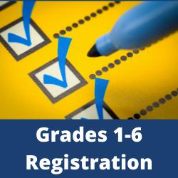 Grades 1-6 Registration