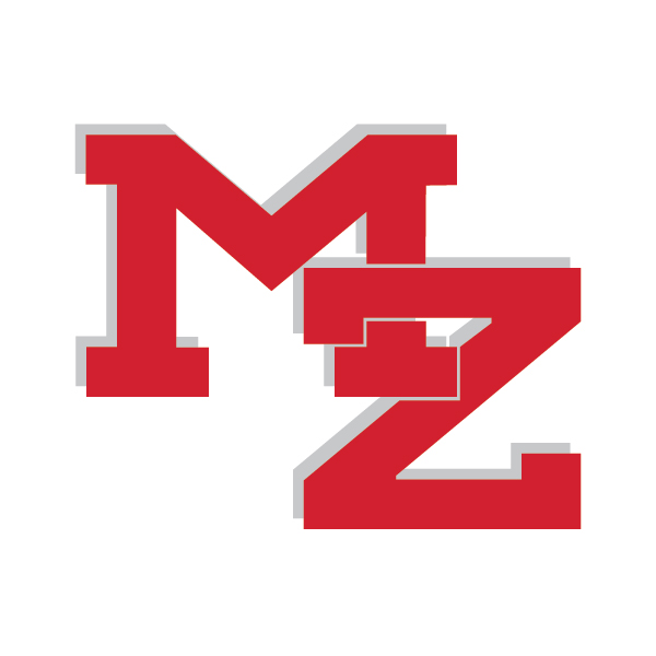 MZ logo in red
