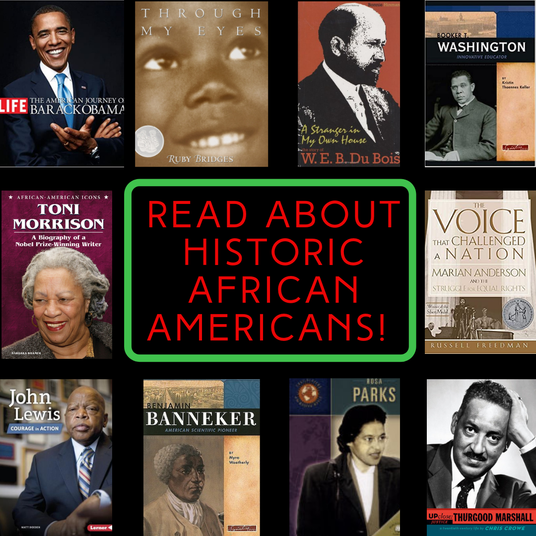 Read about Historic African Americans!