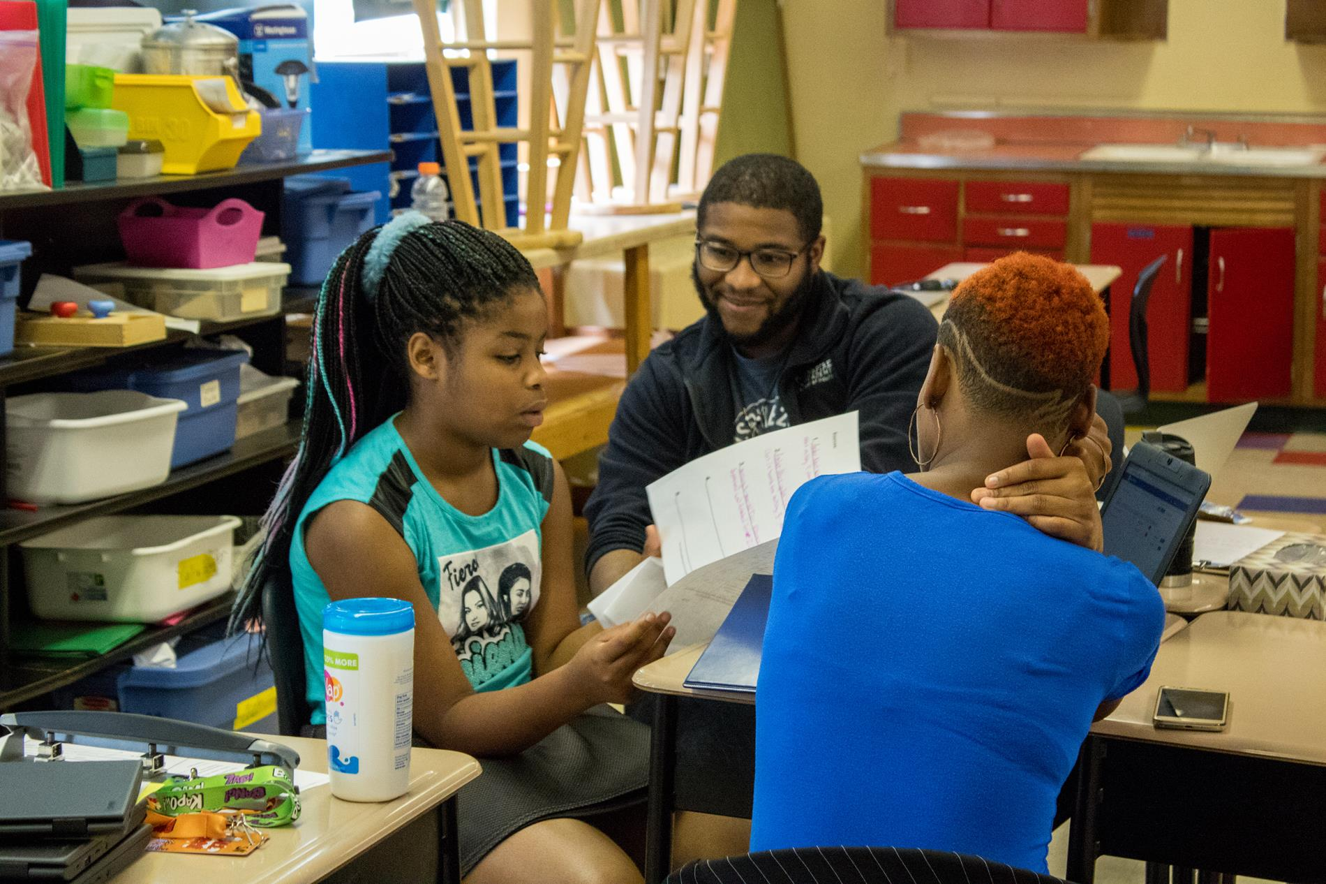 Middle School Student Led Conferences
