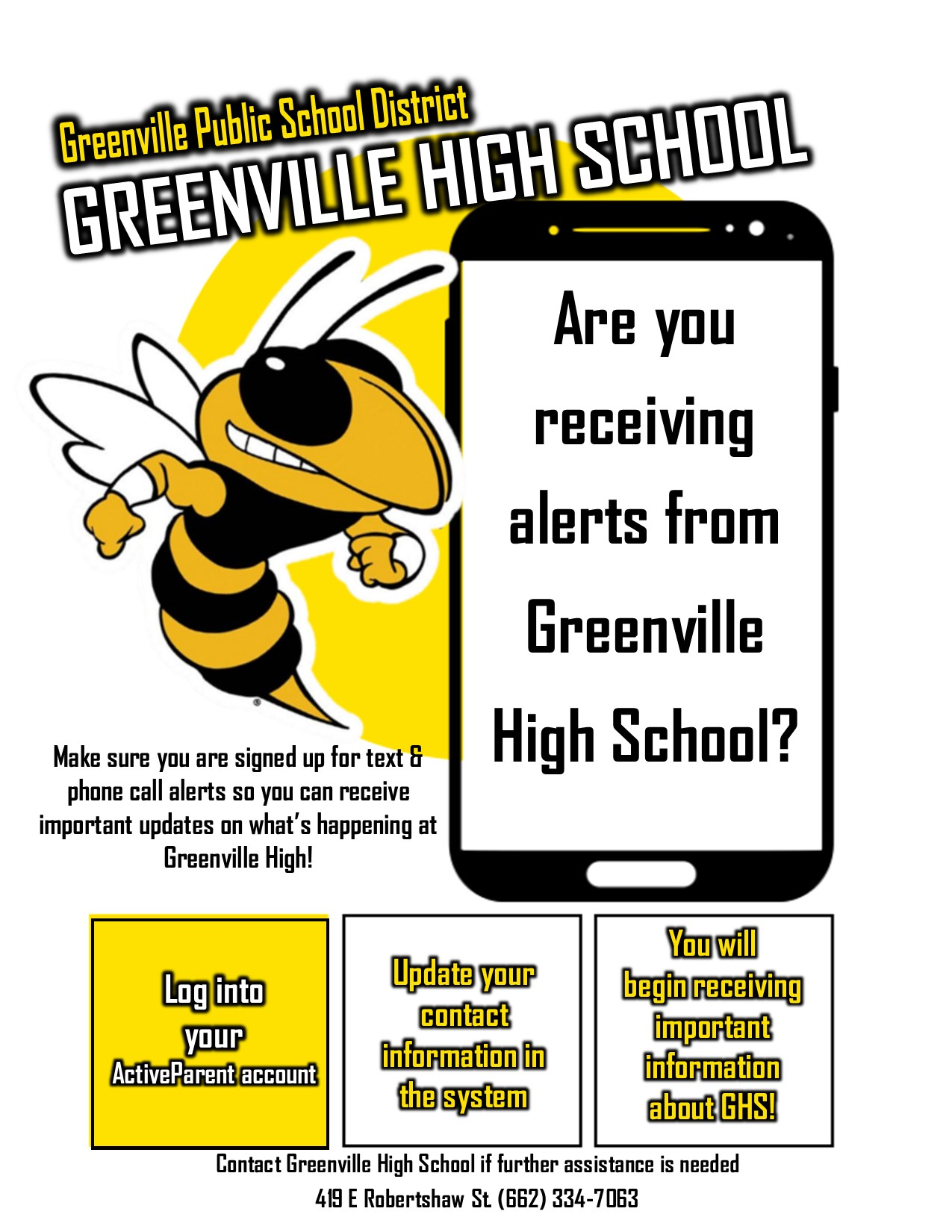 Are you receiving GHS alerts?