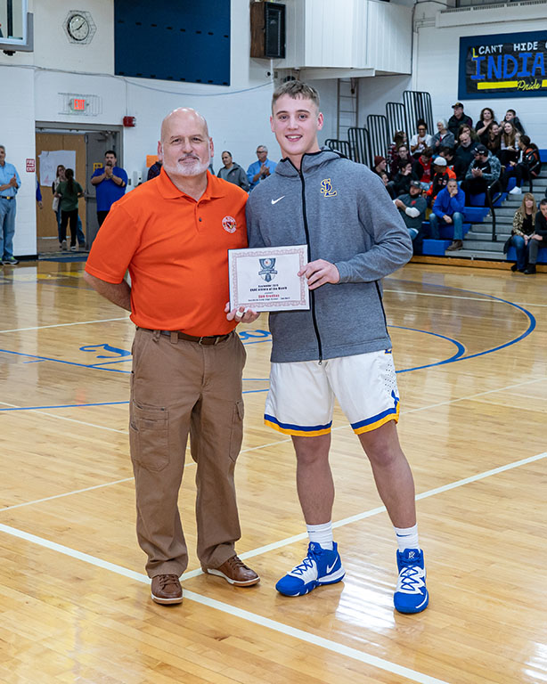 Cameren Grodhaus OVAC Student of the Month