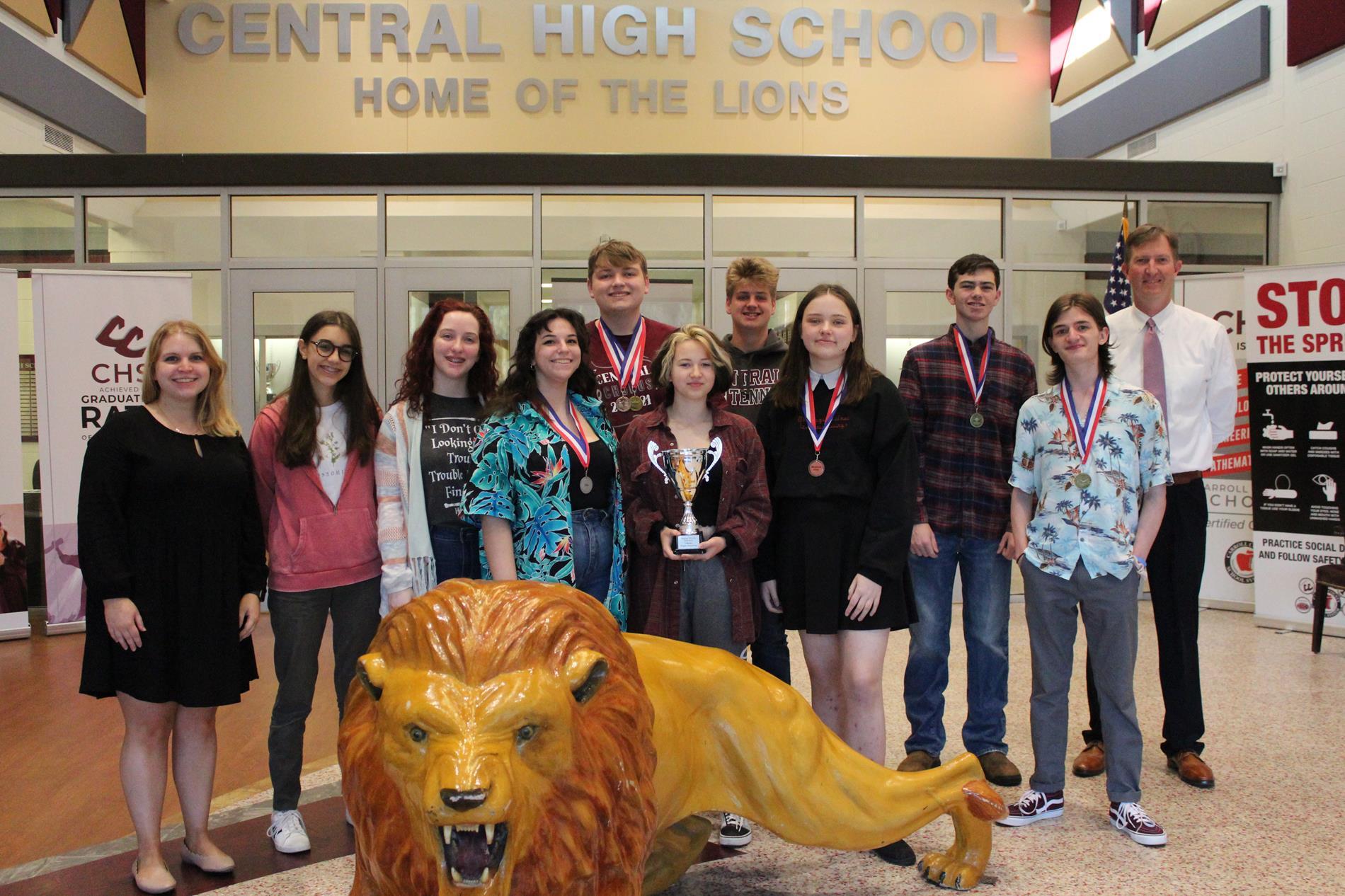 Central Literary Team Region Runner-Up