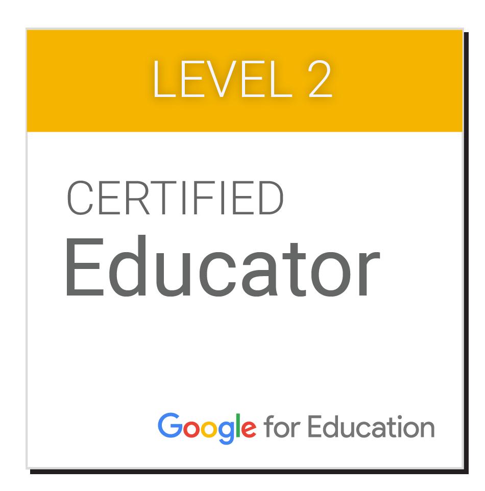 Google Certification Level 2 Badge