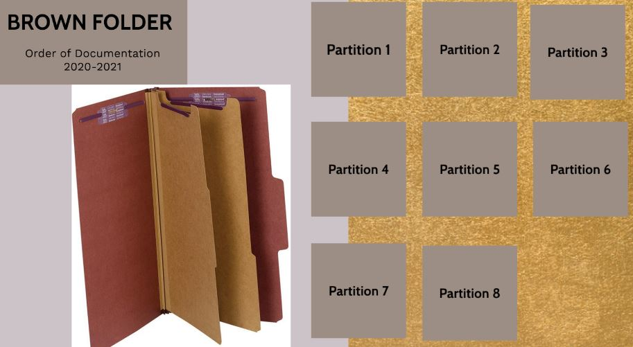 How to Use Brown Folder by Gloria Jamison