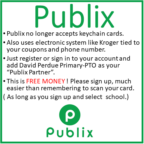 Publix School Rewards