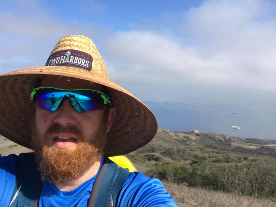 Tim at Catalina Island