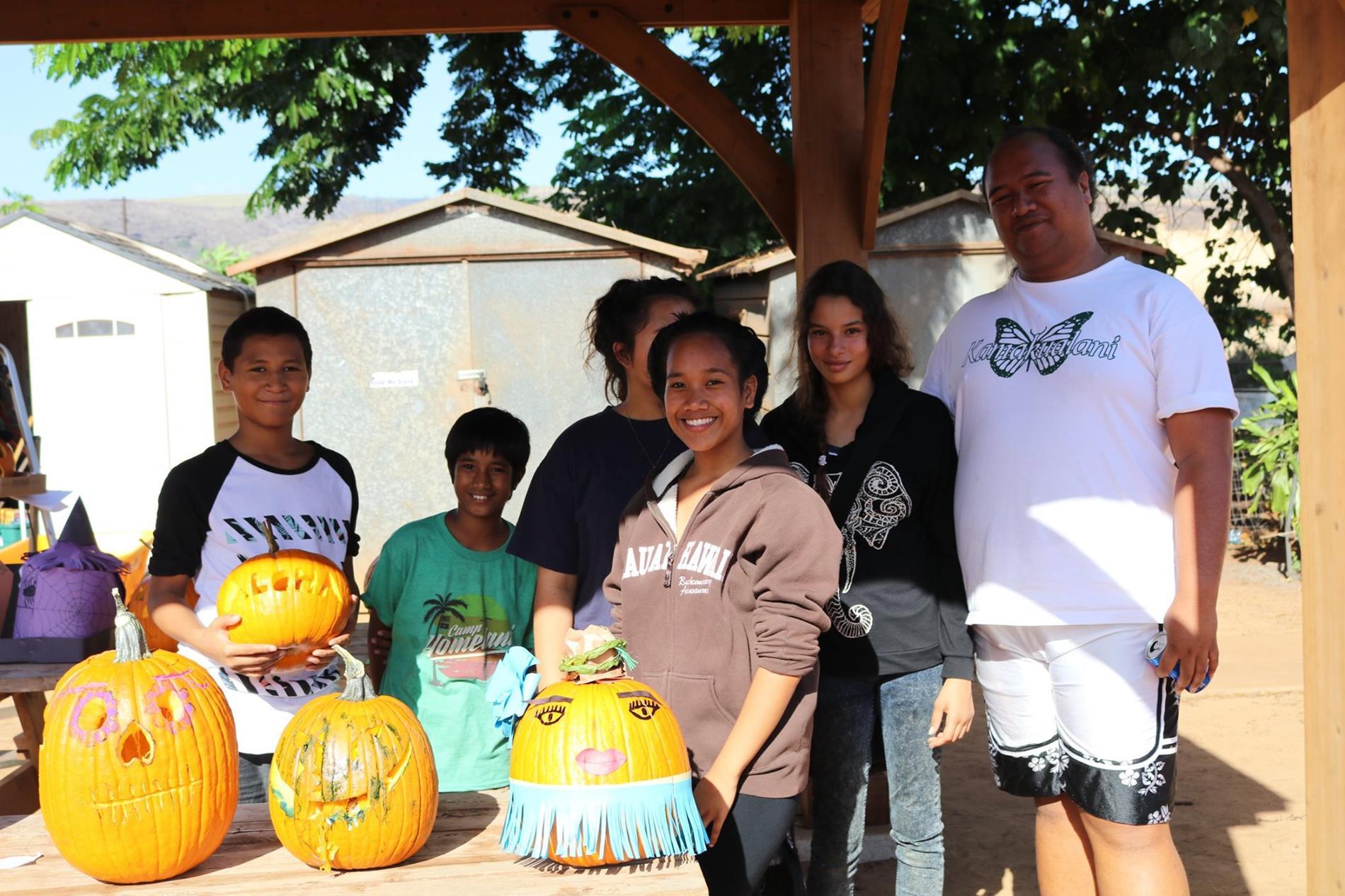 Pumpkin carving winners
