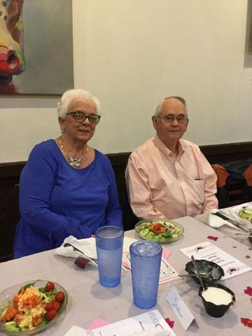 Board Member Linda Hooper and husband Edward Hooper