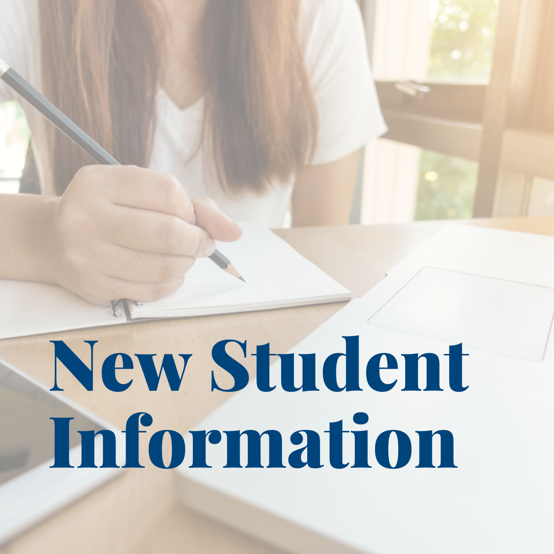 New Student Information