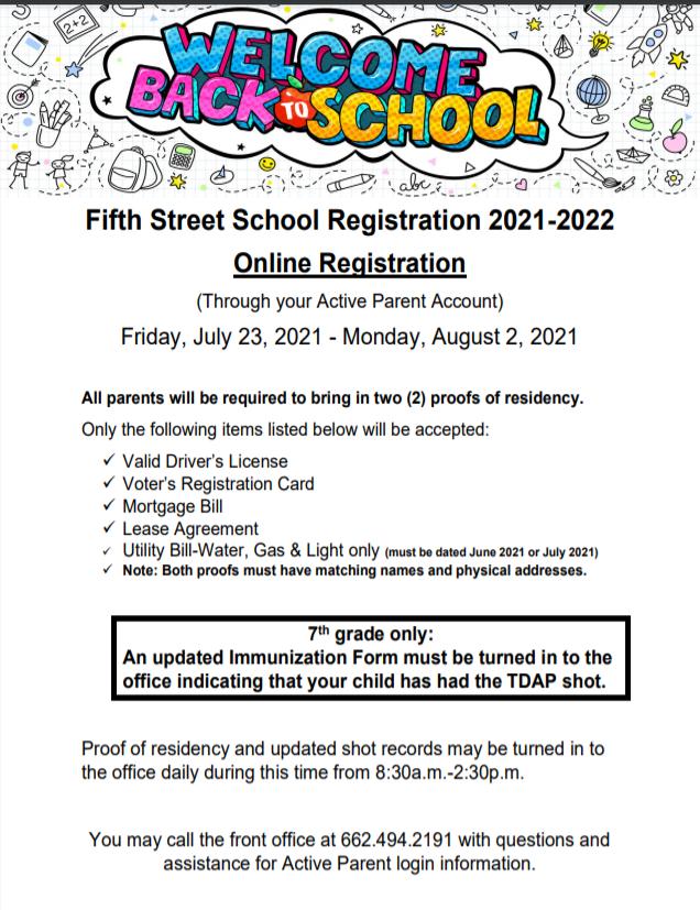 FSS Registration