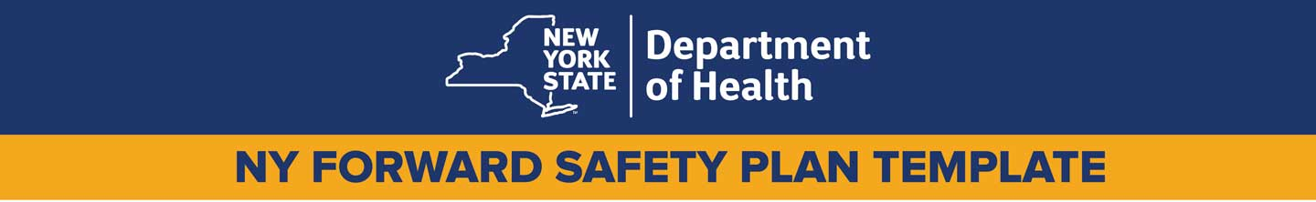 NY Forward Safety Plan Template