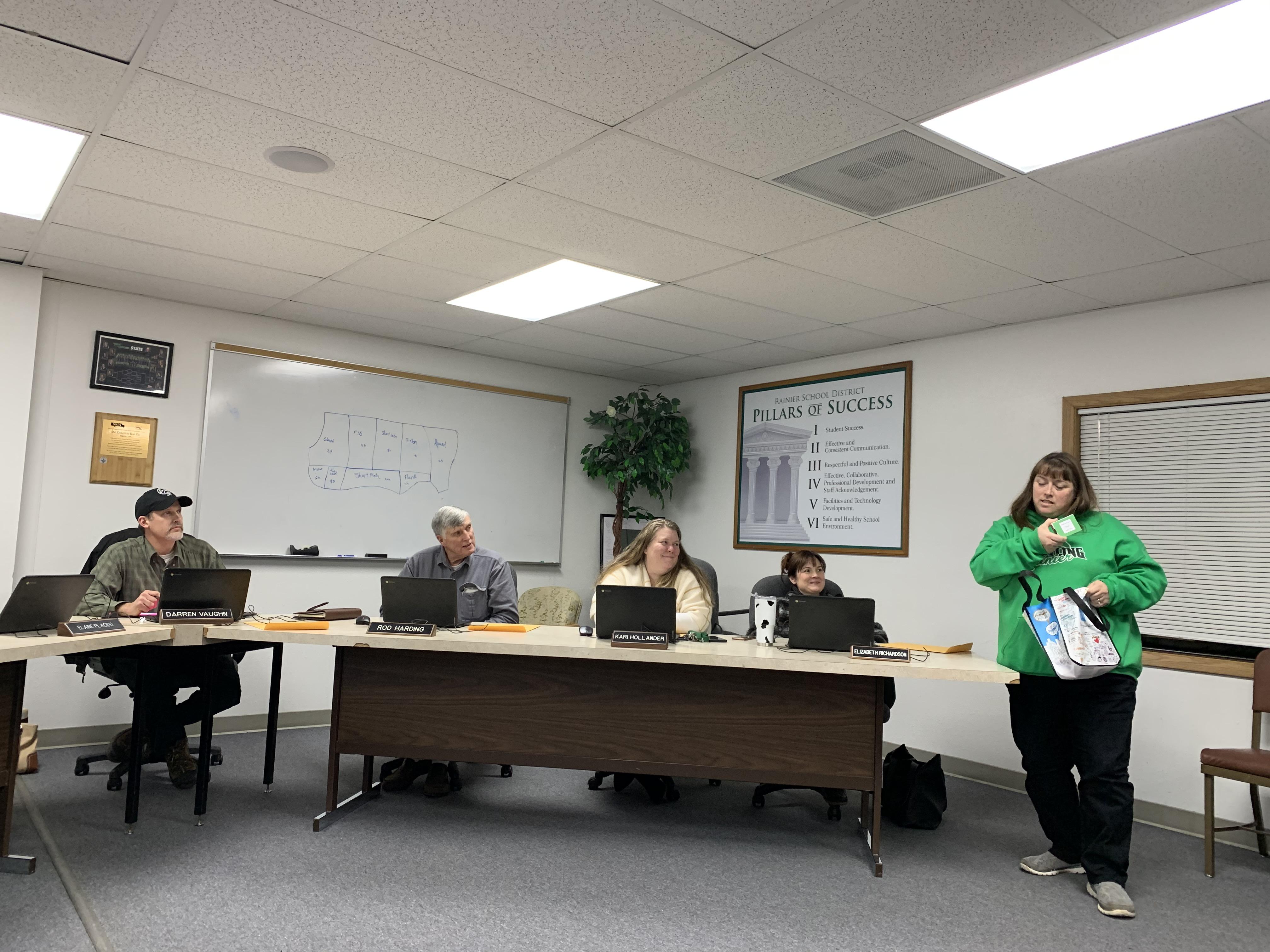RSD School Board Meeting, Jan. 2020