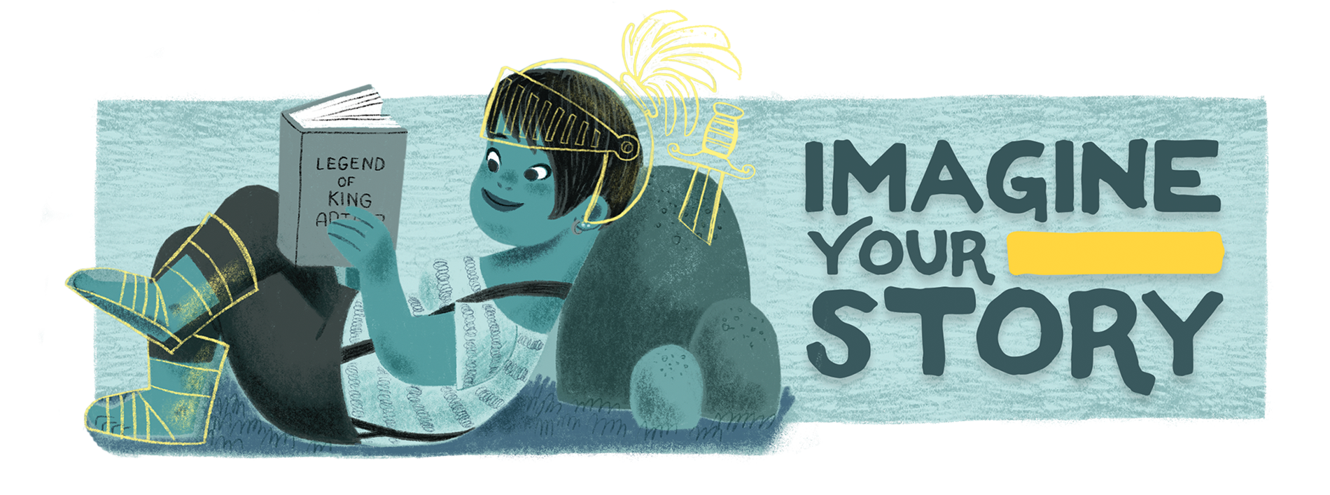 Imagine Your Story CSLP Adult summer reading banner