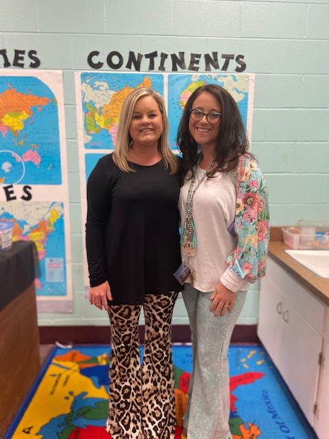 Mrs. Anderson and Mrs. Barron