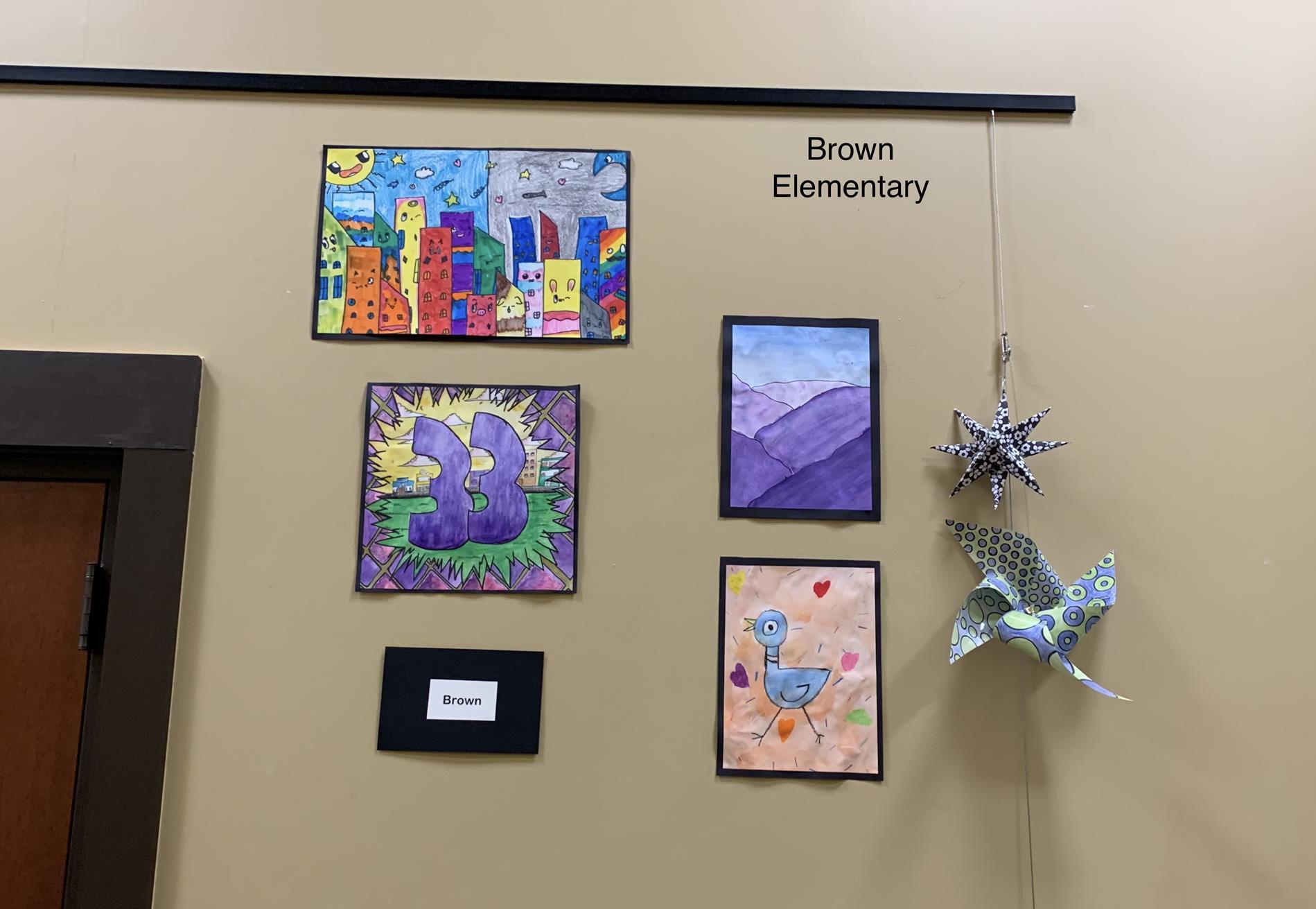 Brown Elementary Art Work