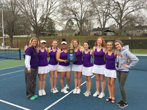 girls tennis team 2016