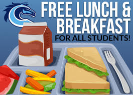 free lunch and breakfast