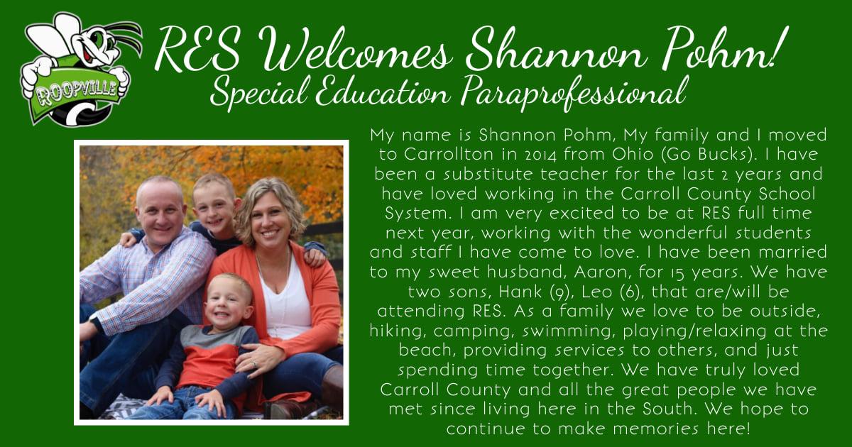 Shannon Pohm