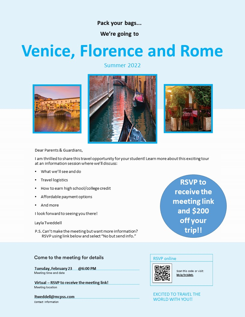 Italy Flyer