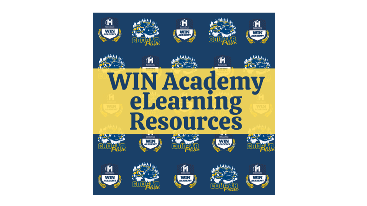 WIN Academy eLearning Resources