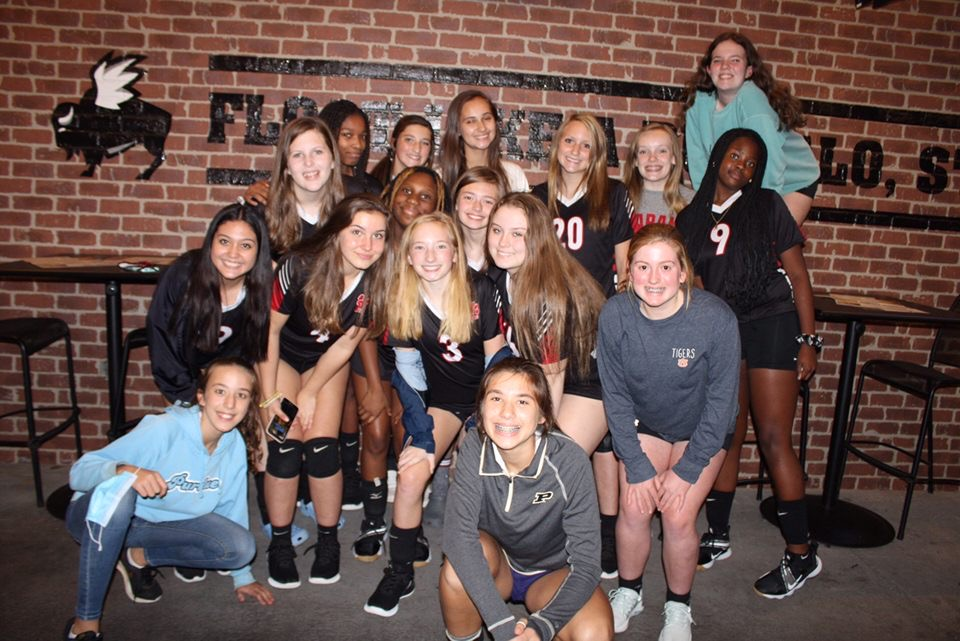 2020 PJHS Volleyball