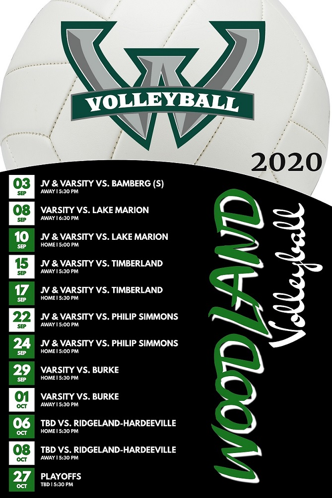Woodland High School Volleyball Schedule