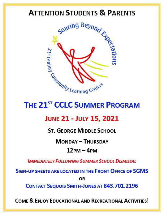 21st Century Summer Program
