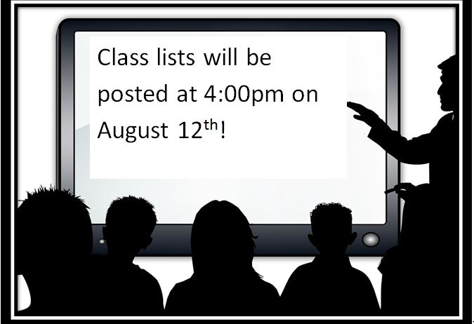 Class Lists Posting Date