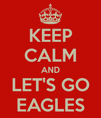 keep calm and lets go eagles