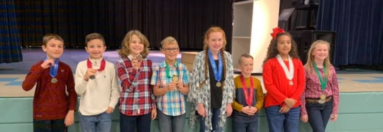 Students that won the Tropicana Speech Contest