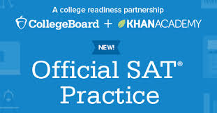 Official SAT Practice with Khan Academy link